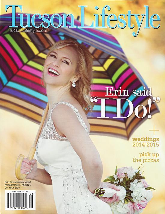 Tucson Lifestyle Magazine - 2 featured weddings!