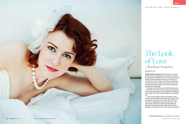 Tucson Bride & Groom Magazine - Summer/Fall 2014