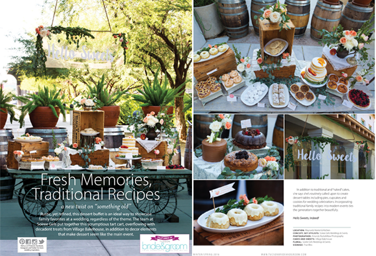 Tucson Bride & Groom Magazine - Winter/Spring 2016 - Featured Weddings
