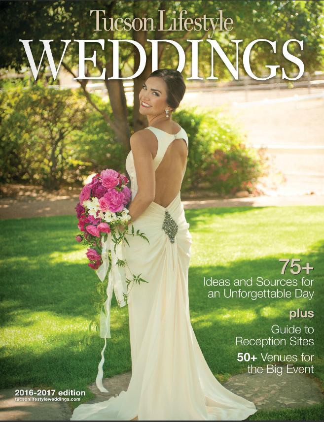 Tucson Lifestyle Magazine - Featured Wedding