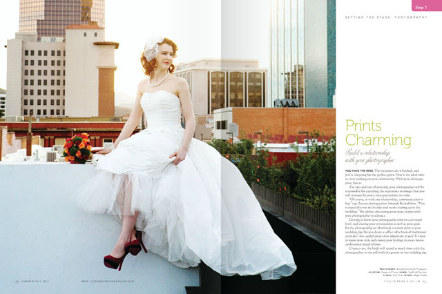 Tucson Bride & Groom - cover shoot